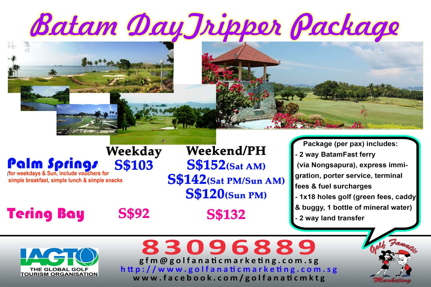 Golf Fanatic Marketing Indonesia Golf Packages